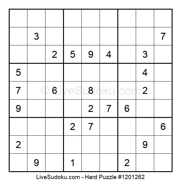 Hard Puzzle #1201262