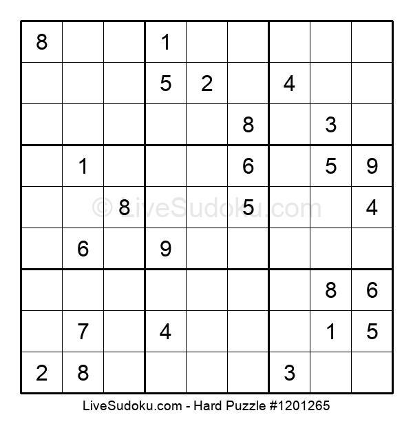 Hard Puzzle #1201265