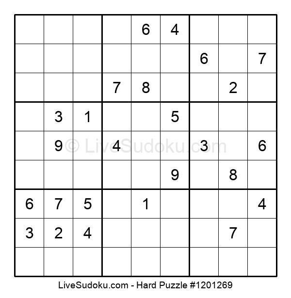 Hard Puzzle #1201269