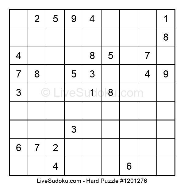 Hard Puzzle #1201276