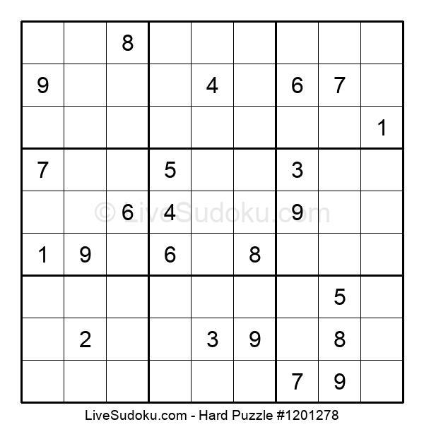 Hard Puzzle #1201278
