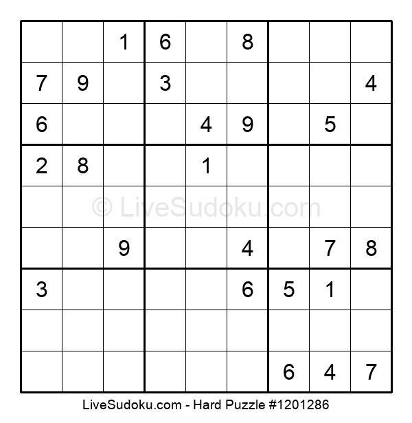 Hard Puzzle #1201286