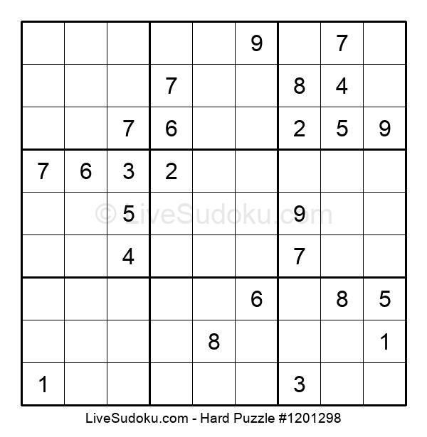 Hard Puzzle #1201298