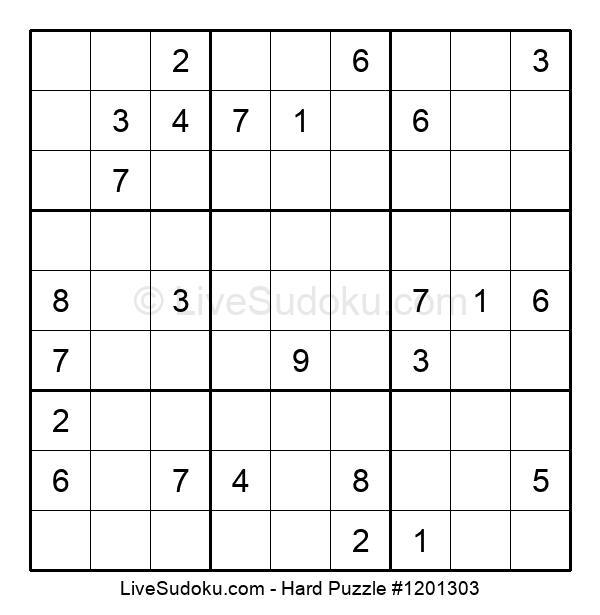 Hard Puzzle #1201303