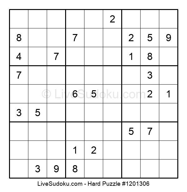 Hard Puzzle #1201306