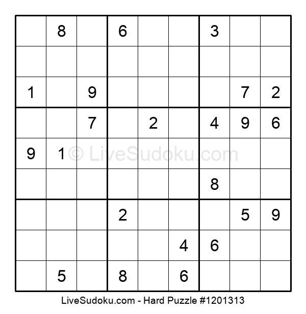 Hard Puzzle #1201313