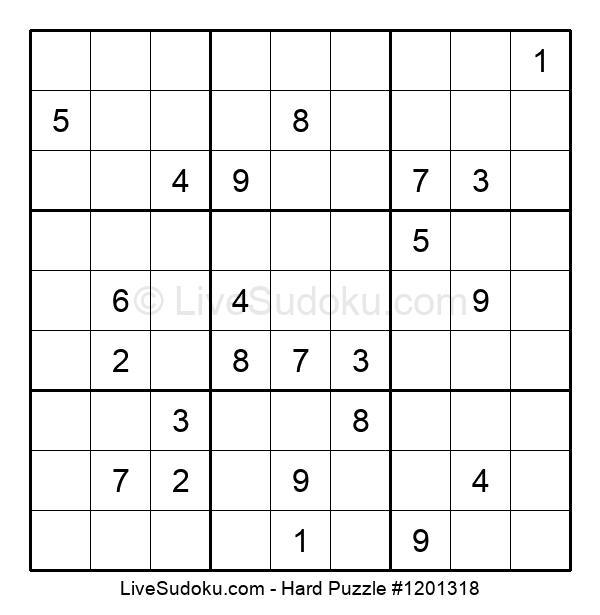 Hard Puzzle #1201318