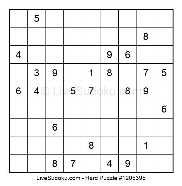 Hard Puzzle #1205395