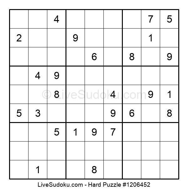 Hard Puzzle #1206452