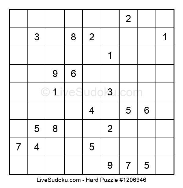 Hard Puzzle #1206946