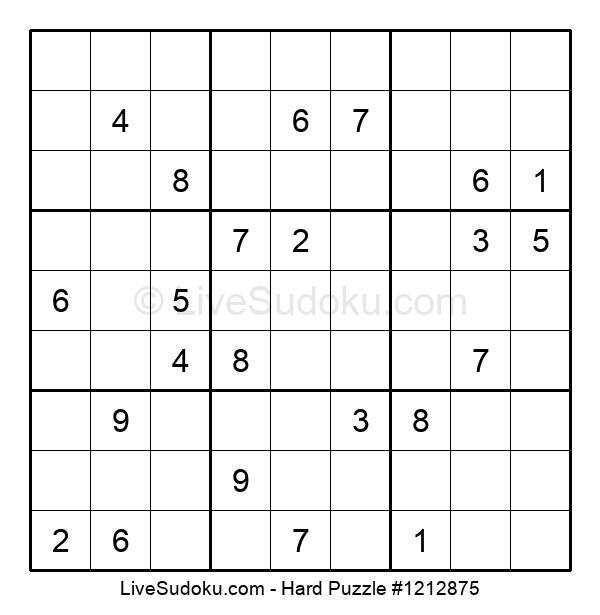 Hard Puzzle #1212875