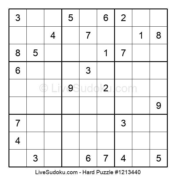 Hard Puzzle #1213440