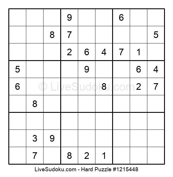 Hard Puzzle #1215448