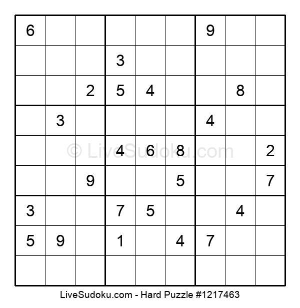 Hard Puzzle #1217463