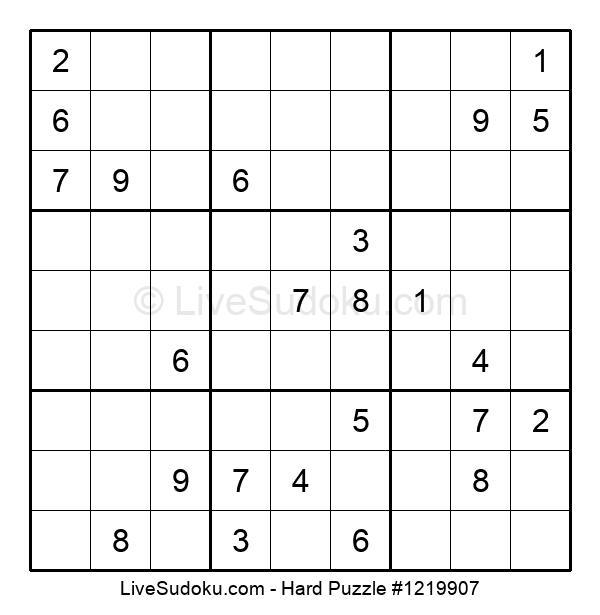 Hard Puzzle #1219907