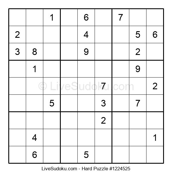 Hard Puzzle #1224525