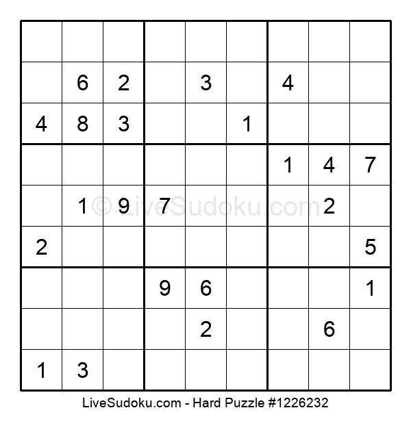 Hard Puzzle #1226232