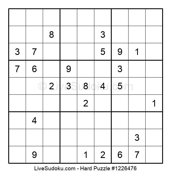 Hard Puzzle #1226476