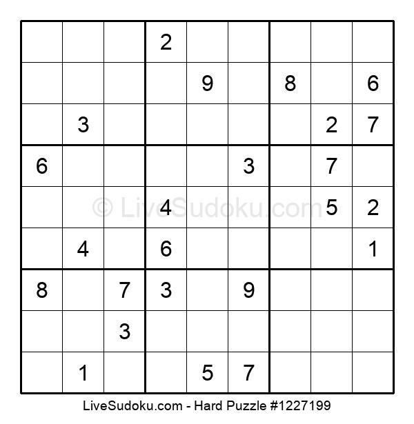 Hard Puzzle #1227199