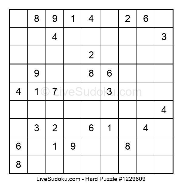 Hard Puzzle #1229609