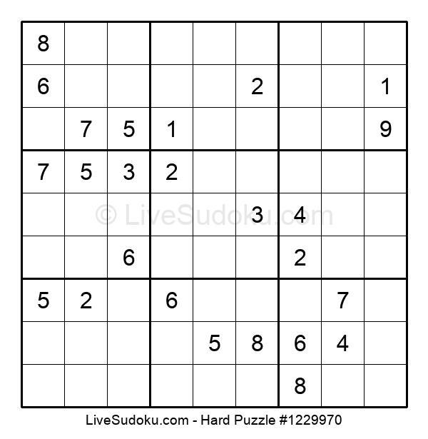 Hard Puzzle #1229970
