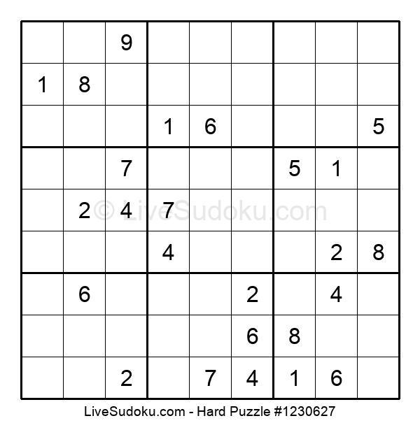 Hard Puzzle #1230627