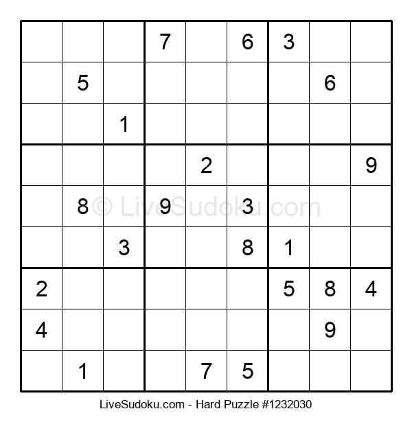Hard Puzzle #1232030