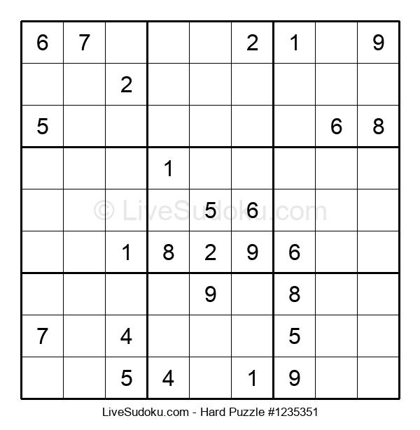 Hard Puzzle #1235351