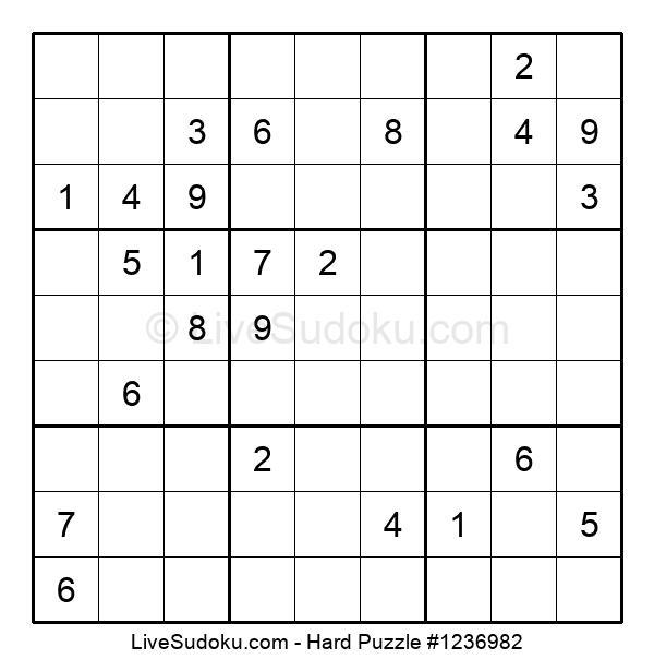 Hard Puzzle #1236982