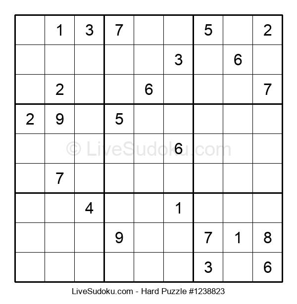 Hard Puzzle #1238823
