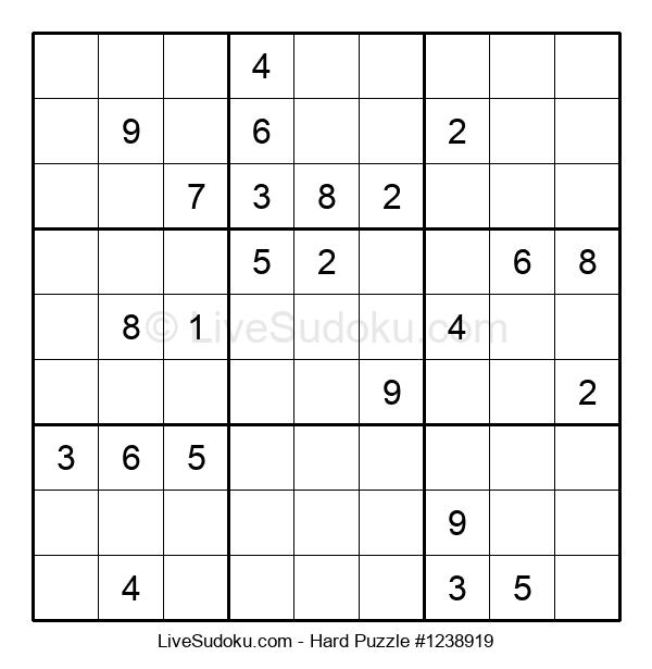 Hard Puzzle #1238919