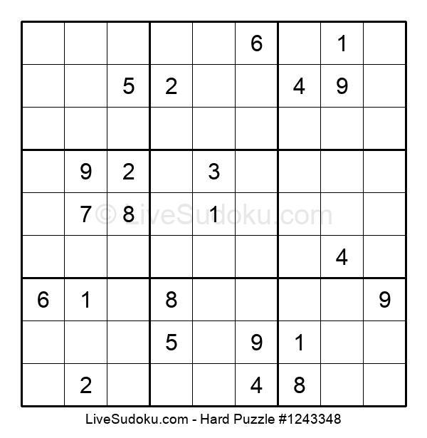Hard Puzzle #1243348