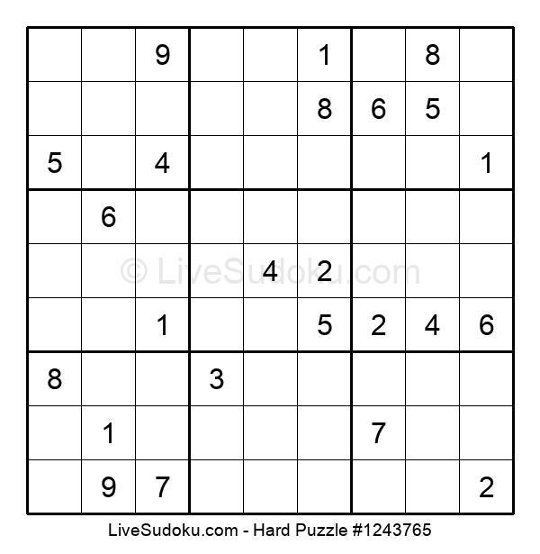Hard Puzzle #1243765