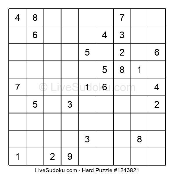 Hard Puzzle #1243821