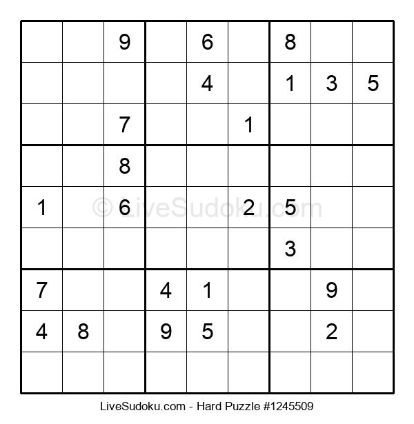 Hard Puzzle #1245509