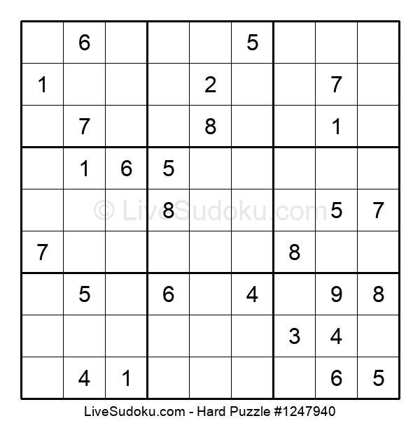 Hard Puzzle #1247940