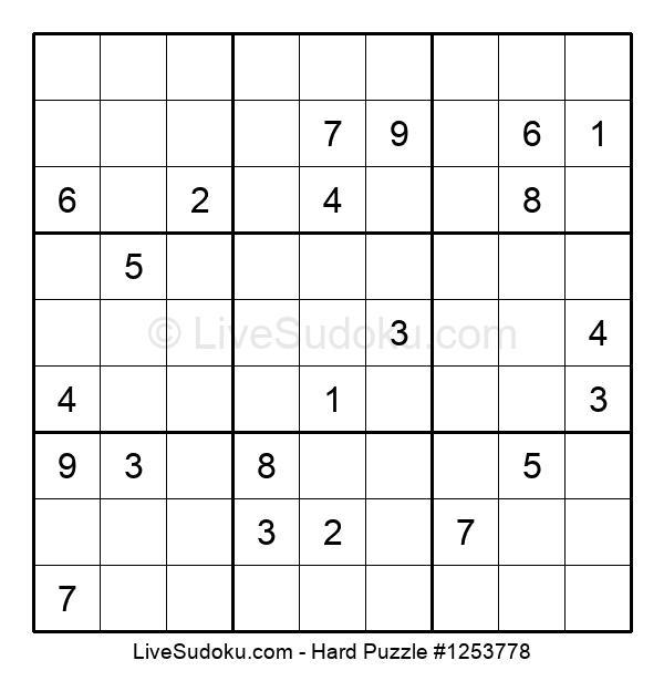 Hard Puzzle #1253778
