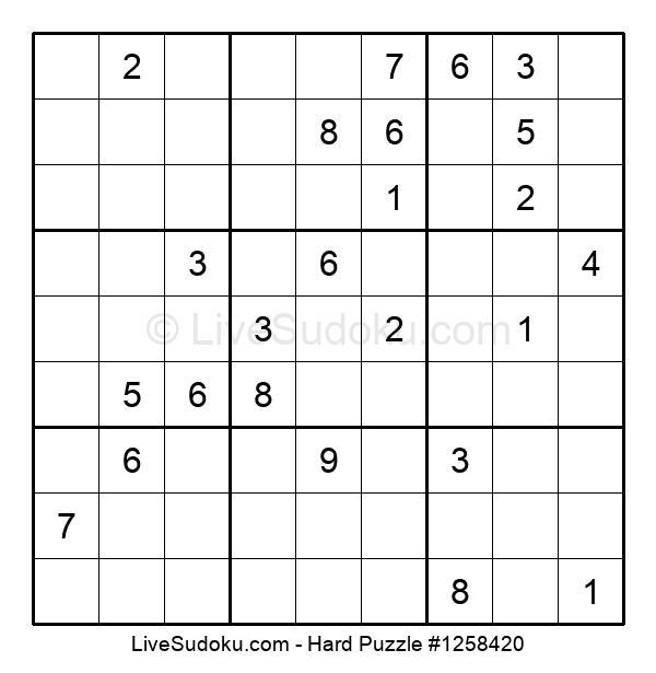 Hard Puzzle #1258420