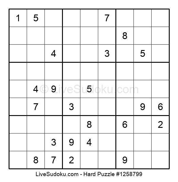 Hard Puzzle #1258799
