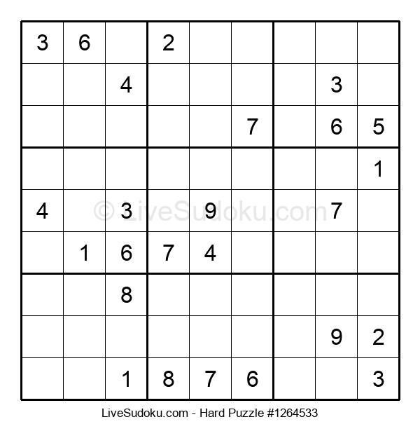 Hard Puzzle #1264533