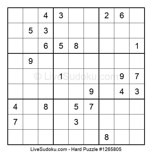 Hard Puzzle #1265805