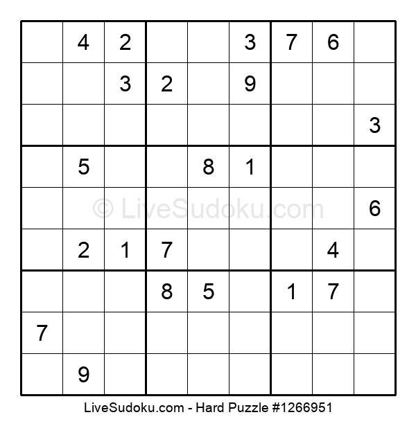 Hard Puzzle #1266951