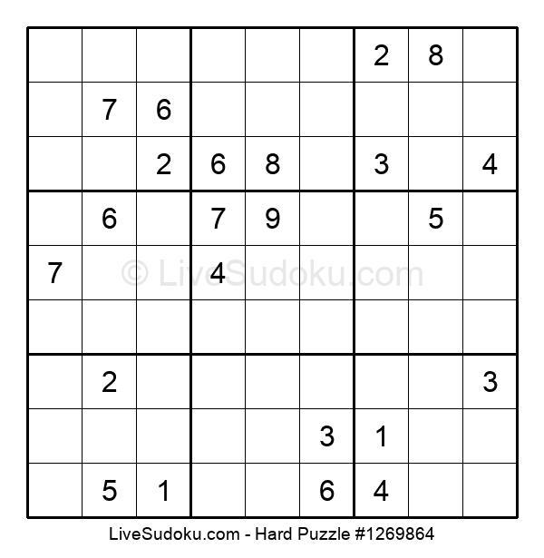 Hard Puzzle #1269864