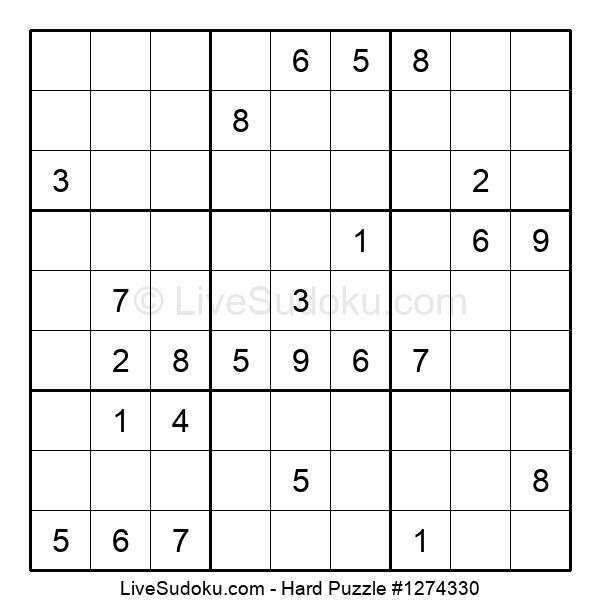 Hard Puzzle #1274330