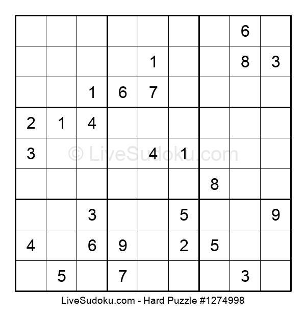 Hard Puzzle #1274998