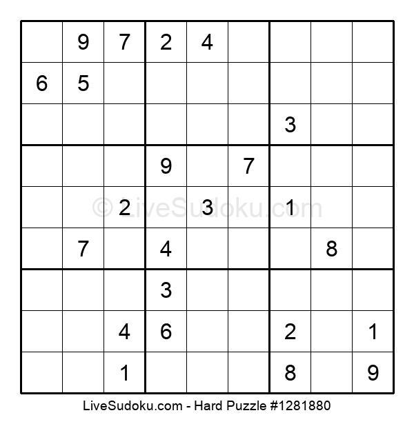 Hard Puzzle #1281880