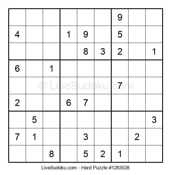 Hard Puzzle #1283528