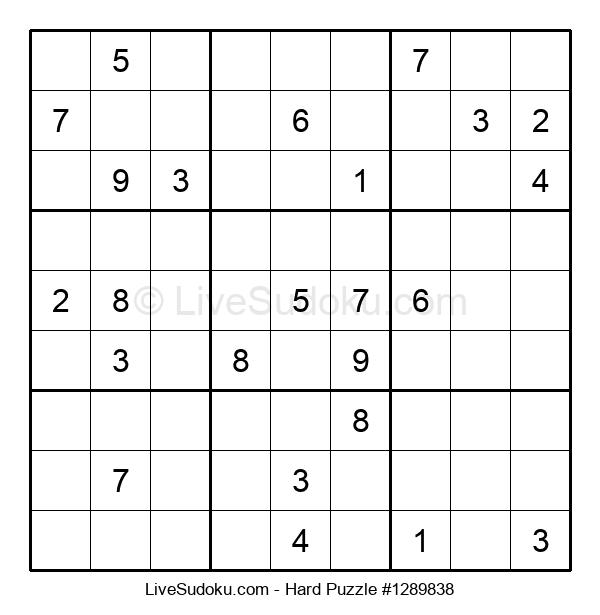 Hard Puzzle #1289838