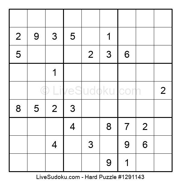 Hard Puzzle #1291143