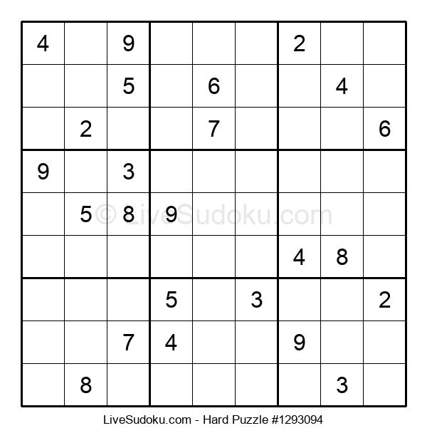 Hard Puzzle #1293094